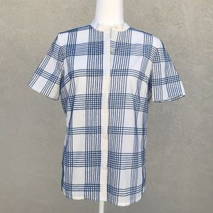 Tory Burch Plaid Shirt